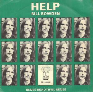 BILL-BOWDEN-Help-1976-VINYL-SINGLE-7-034-HOLLAND-BEATLES-SONG