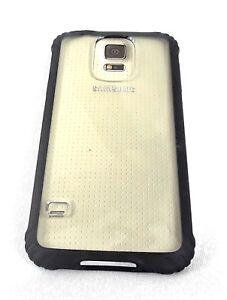 half off 5cc5e 4e759 Details about Griffin Survivor Core Cell Phone Case Samsung Galaxy S5  Black/Clear GB39905-2