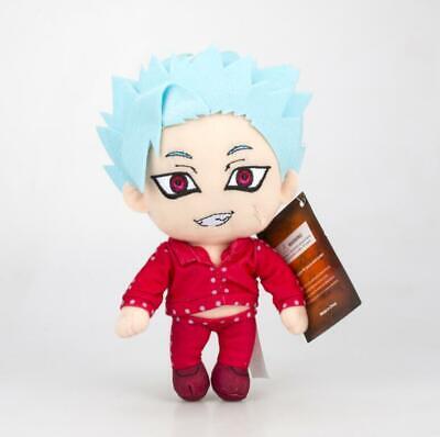The Seven Deadly Sins Ban Plush Stuffed Figure Doll Japan Anime 11.8/'/'