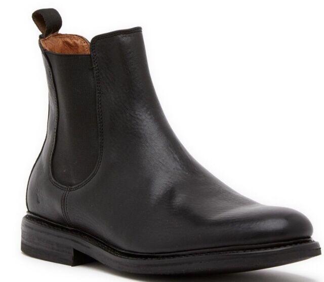 e80840c50574f Frye Seth Leather Chelsea Boot Men's Shoes Black Size 10 M