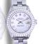 Rolex-Lady-Datejust-White-MOP-Diamond-Dial-Diamond-Lugs-Bezel-26mm-Watch thumbnail 1