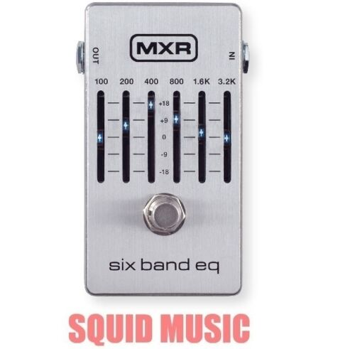 OR BEST OFFER MXR M-109S Six Band Graphic EQ Equalizer M109S Pedal 6 Band