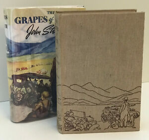 The Grapes of Wrath, John Steinbeck 1940 First Edition w/Facsimile Dust Jacket