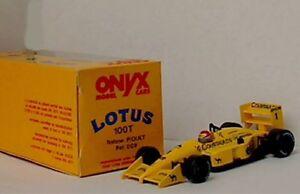 Onyx 007 008 009 Lotus Honda 100t F1 Modèles réduits de voiture N Piquet / S Nakajima 1: 43e