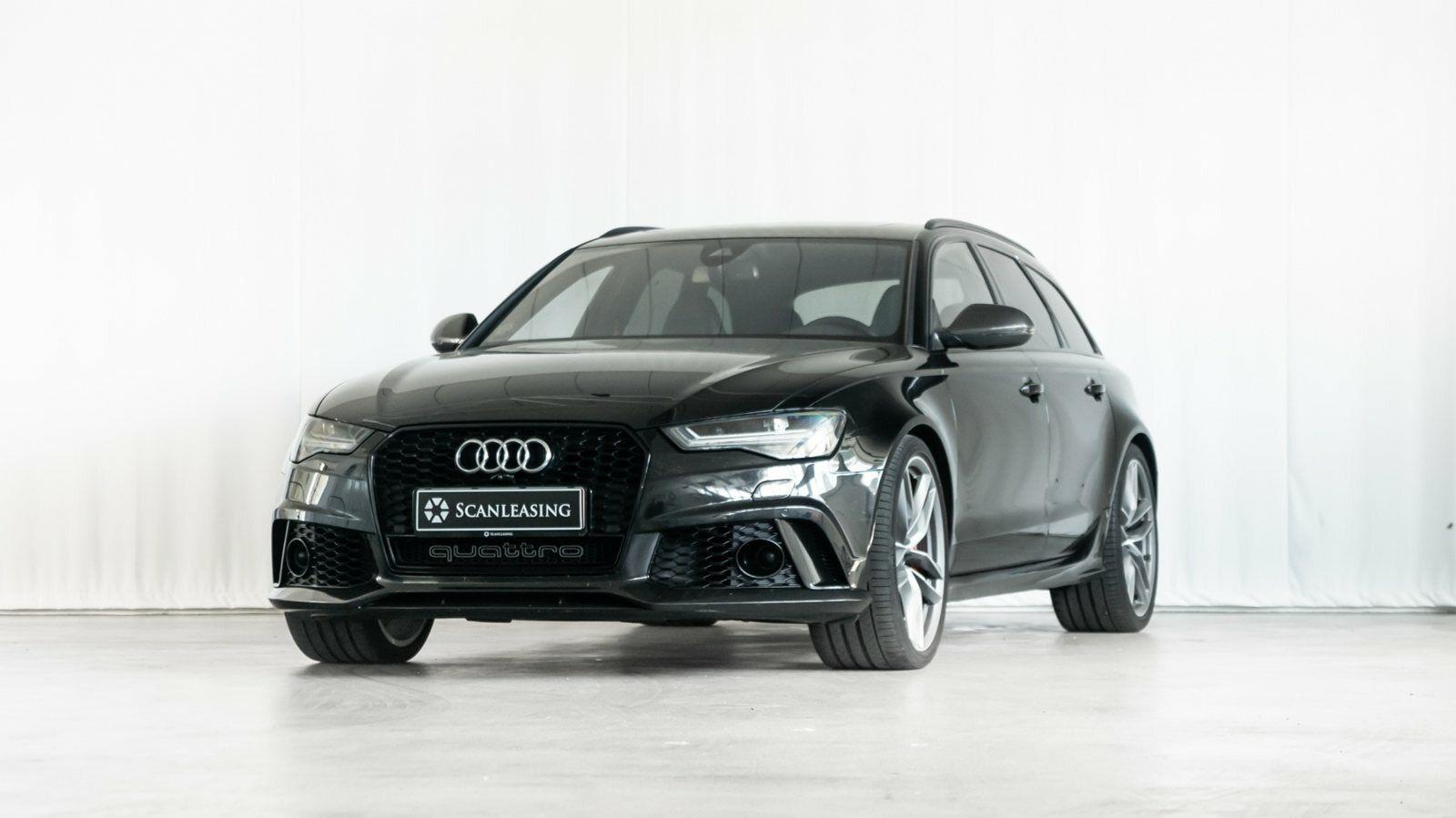 Audi RS6 4,0 TFSi Avant quattro Tiptr. 5d - 1.299.900 kr.