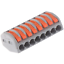 thumbnail 17 - 2/3/4/5/8 Way Reusable Spring Lever Terminal Block Electric Cable Wire Connector