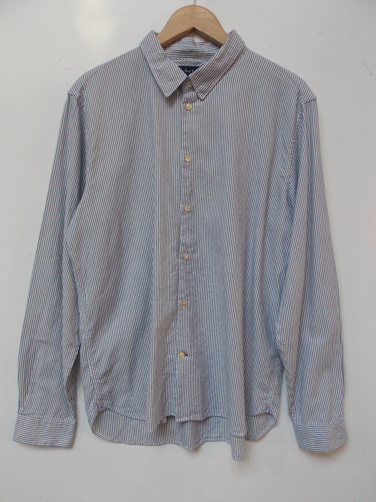 Paul Smith Classic Fit Striped Shirt BNWOT Designer Mens Top Clothing