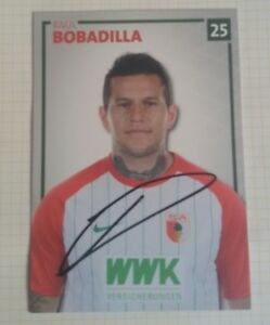 Raul-Bobadilla-FC-Augsburg-2017-2018-Borussia-Moenchengladbach-Abgang-signiert