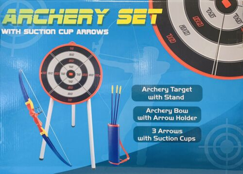 Archery Set With Suction Cup Arrows