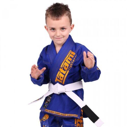 Tatami New Meerkatsu Kids Animal BJJ Gi Royal Blue Uniform Free White Belt