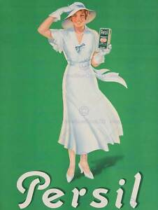 ADVERTISEMENT-LAUNDRY-PERSIL-GREEN-DETERGENT-30X40-FINE-ART-PRINT-POSTER-BB7289