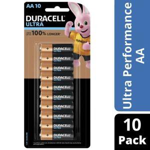 Duracell Ultra Alkaline AA Batteries 10pk
