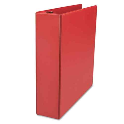 UNV2 EA 2 In Universal D-Ring 3-Ring Binder With Label Holder Red Capacity