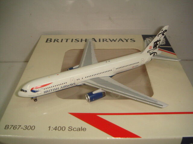 Bigbird 400 British Airways BA B767-300ER  Rendezvous - Hong Kong Tail  1 400