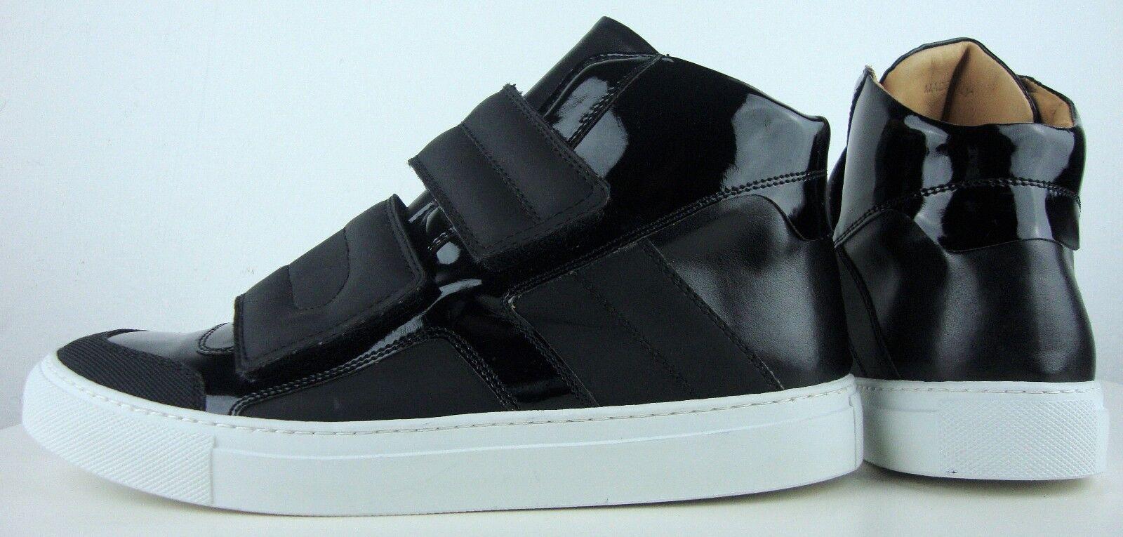 Maison Martin Margiela top High sneakers señora de diseño zapatos Black nuevo