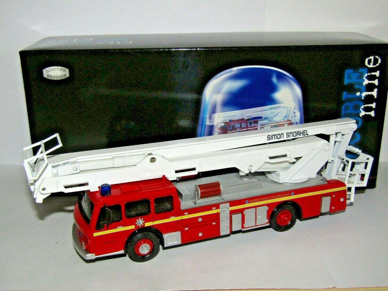 CORGI DENNIS F125 SIMON SNORKEL SS263 MERSEYSIDE FIRE BRIGADE 1 50 CC13003