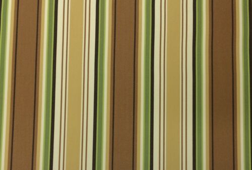 OUTDURA TRADEWINDS MARSH CANVAS STRIPE WHEAT GREEN OUTDOOR FURNITURE FABRIC BTY