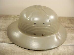 WW2-WWII-US-Army-Combat-Pith-Helmet-1942-Original-International-Hat-Co-Date-1942