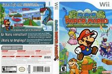 Super Paper Mario Nintendo Wii COMPlETE LikeNew play as Princess Peach or Bowser