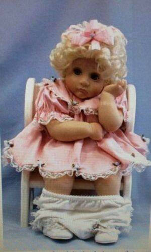"""KATIE DID IT DOLL"" HER OWN POTTY CHAIR HAMILTON 1993 VINYL HARD TO FIND"