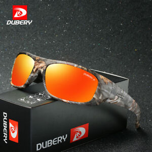 33359c524e Image is loading DUBERY-Mens-Sport-Polarized-Sunglasses-Outdoor -Driving-Helm-