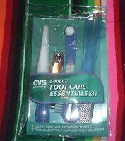 Cvs 5-piece Foot Care Essentials Kit