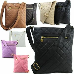 Small/Medium Women Across Body Bag Ladies Quilted Designer ...