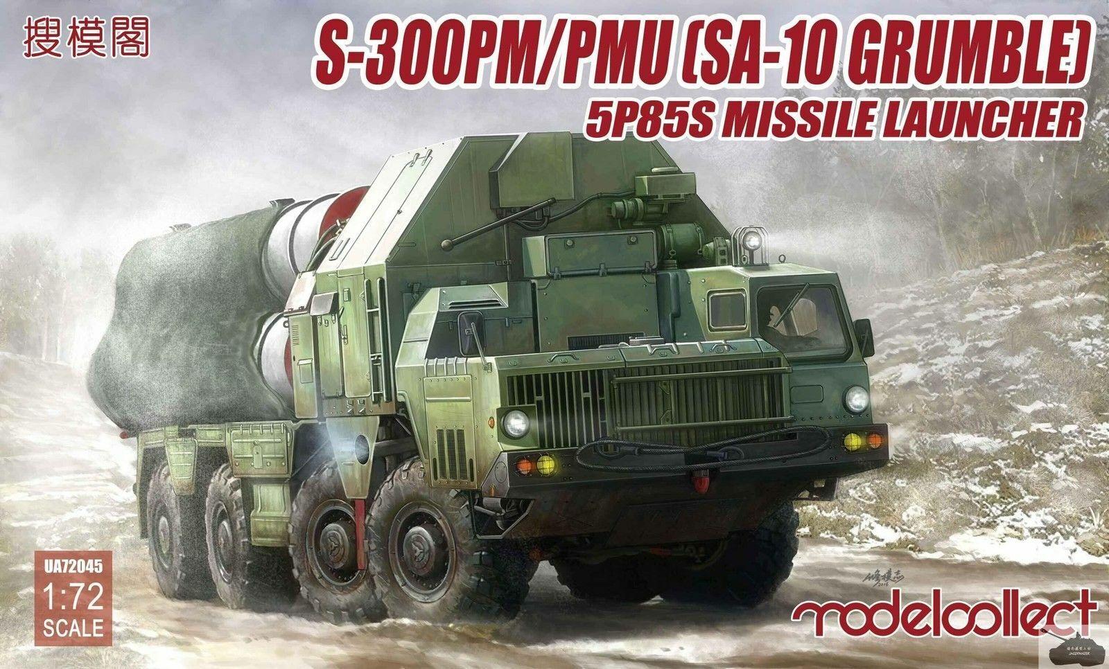 Model Collect 1 72 S-300 PM PMU(SA-10 Grumble) 5P85S Missile Launcher