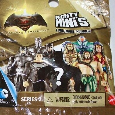 Lot of 10 Batman Superman SERIES 1 Mighty Mini/'s Blind Bag Mini Figure Superhero