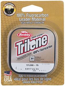 BERKLEY Trilene Fluorocarbon Leader 0,25mm 25m 4,9kg Tragkraft Flourcarbon