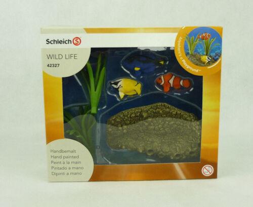Schleich 42327 coraux poissons wild life jeu milieux aquatiques