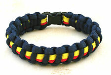 REME 7 Strand  Para Cord Military weave bracelet with slide clasp