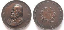 Grande medaglia di garibaldi a ricordo della sua morte 1882