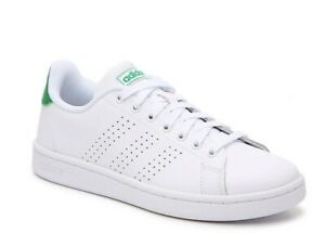 Details about Adidas Cloudfoam Advantage Women's Leather Casual Shoes