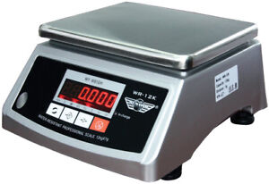Digitalwaage Myweigh Wr12k Kuchenwaage 12kg 1g Wasserdicht Display