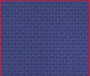 1yd 14ct navy charles craft aida cross stitch fabric 36x60 for Charles craft cross stitch fabric