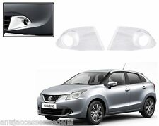 Premium Quality Car Chrome Fog Lamp Cover For - Maruti Suzuki Nexa Baleno