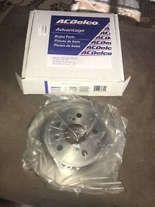 For-Toyota-Highlander-2001-2003-ACDelco-18A983A-Advantage-Solid-Rear-Brake-Rotor