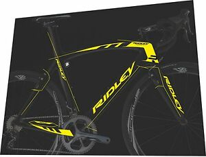 RIDLEY Noah Fast 2015 Frame Sticker / Decal Set