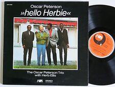 OSCAR PETERSON TRIO WITH HERB ELLIS HELLO HERBIE MPS LP