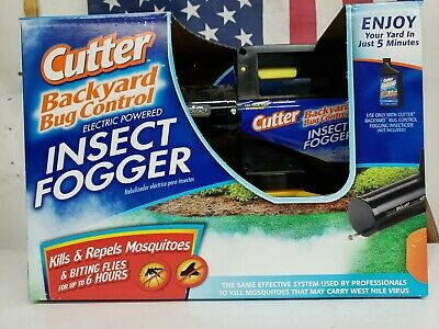 Cutter Backyard Bug Control Electric Insect Fogger Item ...