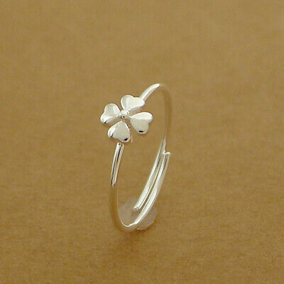 Solid 925 Sterling Silver Linked Hollow Stars Knuckle Stack Ring Open Band Boxed