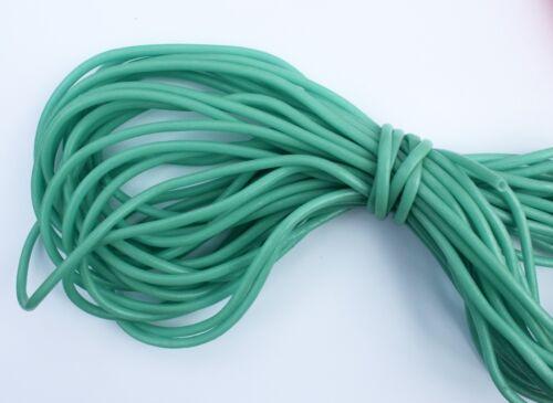 Vinyl Chafing Tubing Loop Protector 2.8mm Glow Luminous 50ft Bulk Blue