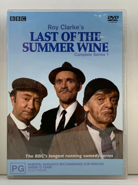 DVD Last Of The Summer Wine : Series/Season 1 One First 1st - FREE POST #P3