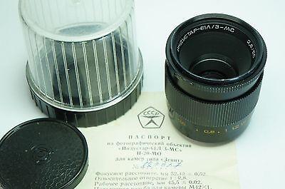 USSR Russian lens MC Industar 61 LZ 50 mm F2.8 M42 lens TEST