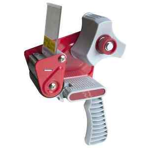 "Red 2"" Inch Portable Tape Dispenser Gun Packing Packaging ..."