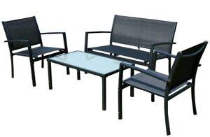 Sitzgruppe Gartengarnitur Gartenset Gartenlounge Casaya B Tisch 2