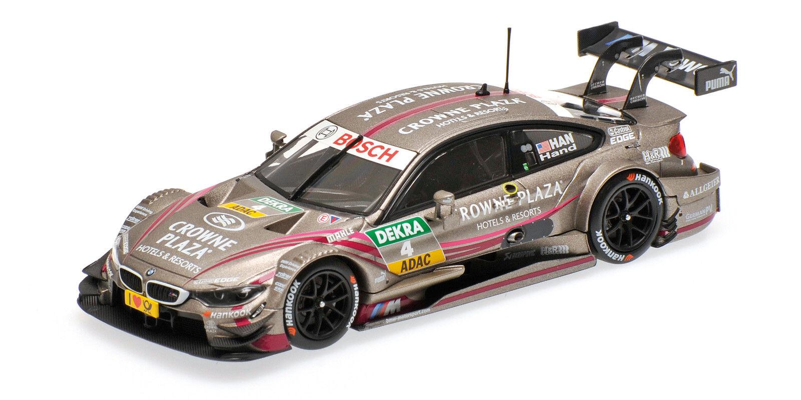 BMW m4 f82 Team RBM Joey mano DTM 2014 1:43 MODEL MINICHAMPS