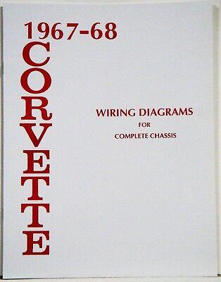 67-68 Corvette Factory Wiring Diagram Manual | eBayeBay