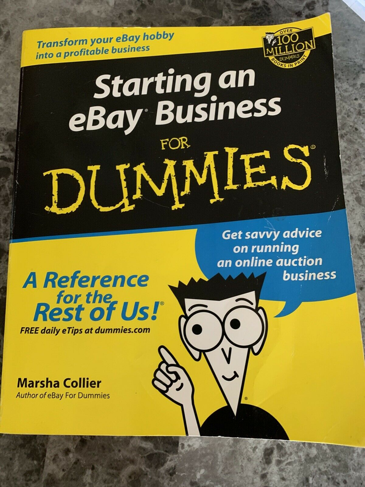 Starting An Ebay Business For Dummies By Marsha Collier 2001 Trade Paperback For Sale Online Ebay